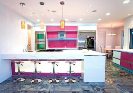Pink Kitchen_Modern2